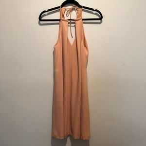 Zara Tie Halter Dress
